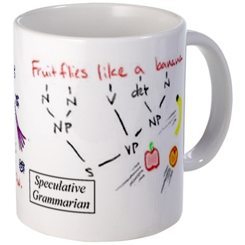 Fruit flies like a banana mug