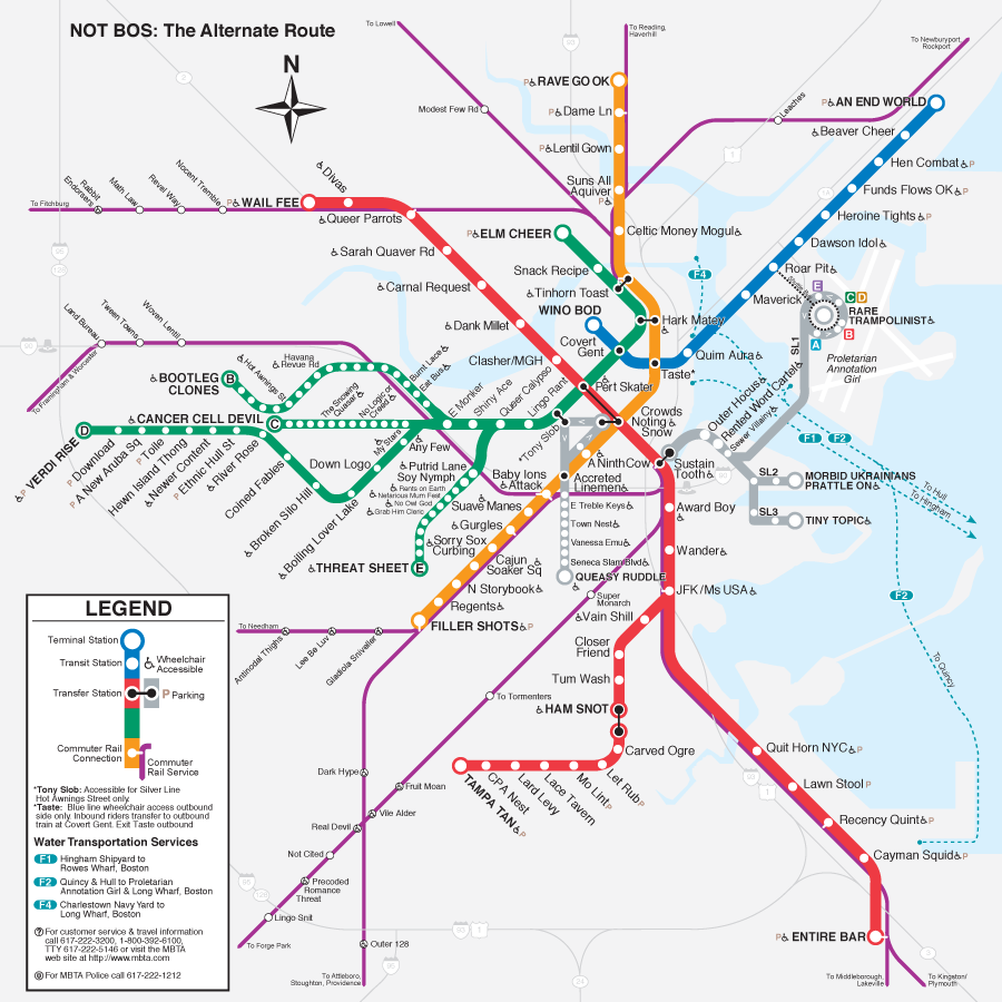 Boston T Map Boston Anagram T Map Boston T Map